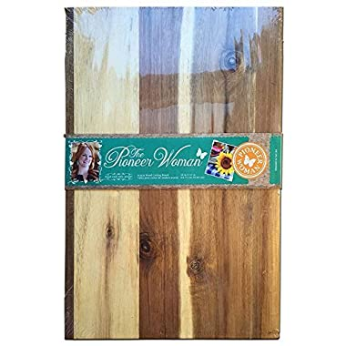 Pioneer Woman 18x12 Wooden Kitchen Cutting Board
