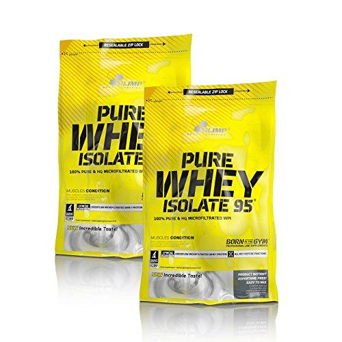 Olimp Pure whey Isolate 95 2 x 600g Beutel Vanille