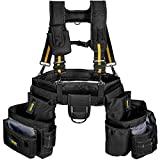 Bravex Pro Tool Belt Suspenders - 20 Bags Ultra Anti-wear Y Style Tool Belts