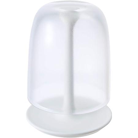 マーナ(MARNA) コップ スタンドセット クリア 歯磨きコップ きれいに暮らす。 W611CL