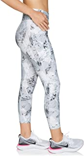 Rockwear Activewear Women's Sprint Ag Print Pocket Tight from Size 4-18 for Ankle Grazer High Bottoms Leggings + Yoga Pants+ Yoga Tights