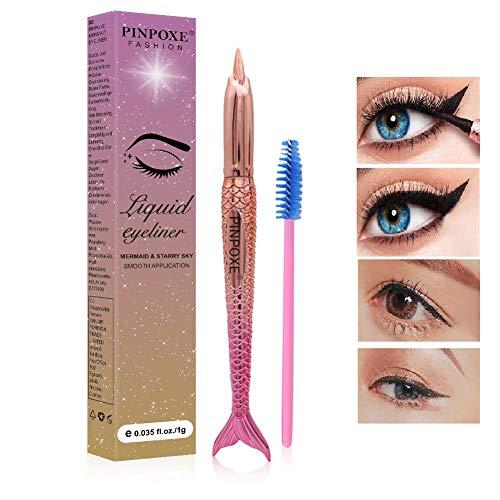 Eyeliner, Liquid Eyeliner, Eyeliner Wasserfest, Schwarz Eyeliner, Flüssiger Eyeliner, Meerjungfrau...