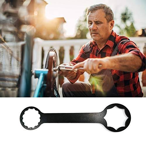 Mountain Bike Fork Removal Wrench Gear Double Ended Wrench Bicycle Octagonal Wrench Bike Repair Maintain Modification Tools for XC, RST Fork