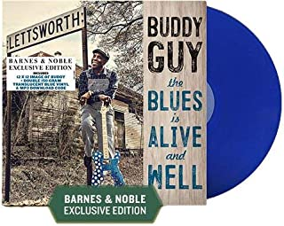 The Blues Is Alive And Well (Exclusive Double 150g Translucent Blue Vinyl)