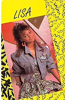 Lisa Turtle saved by the Bell trading game card #54 Lark Voorhies Size 2x3 inches