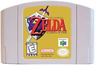 $29 » New The Legend of Zelda Ocarina of Time Video Game Cartridge US Version For Nintendo 64 N64 Game Console