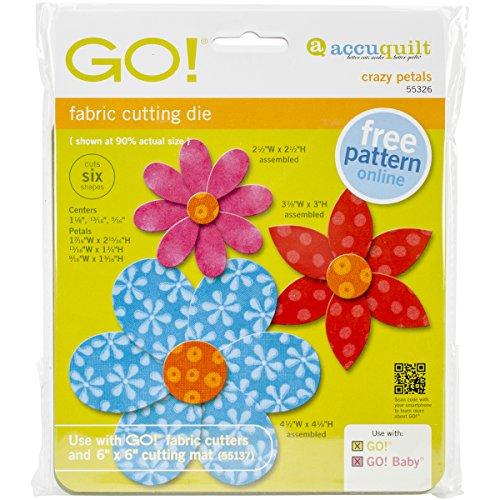 Accuquilt GO! Crazy Petals Die
