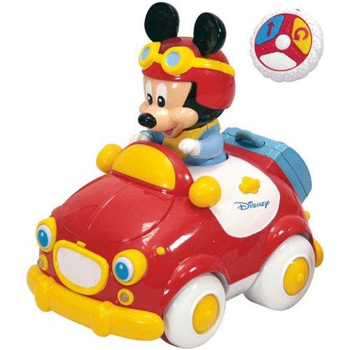 Clementoni - 14336 - Jouet Premier Age - Bébé Disney - La Voiture Radio Commandée De Mickey