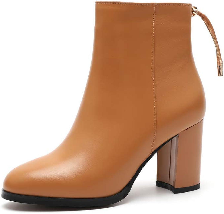 AN Womens Dance-Ballroom High-Heel Solid Urethane Boots DKV02790
