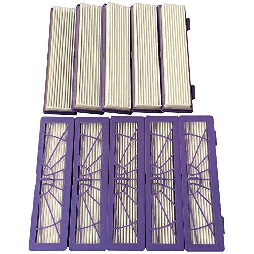 Clean Fairy, pacco da 10 filtri HEPA per tutti i modelli della serie Neato Botvac 70E 75 80 85, D3 D5 per aspirapolvere