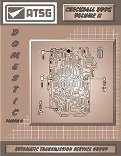 ATSG Manual de reparo de transmissão Vol II Domestic Checkball Book (reconstrutores e lojas de transmissão, economize agor...