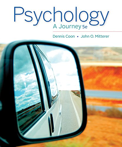 Bundle: Cengage Advantage Books: Psychology: A Journey, Loose-leaf Version, 5th + MindTap Psychology, 1 term (6 months)