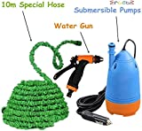 Ergode Car Electric Pressure Washer With Water Gun + 10m Special Hose Pipe + Submersible Pumps