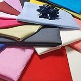 Textile Station 20 Stück einfarbige einfarbige Muster 100%