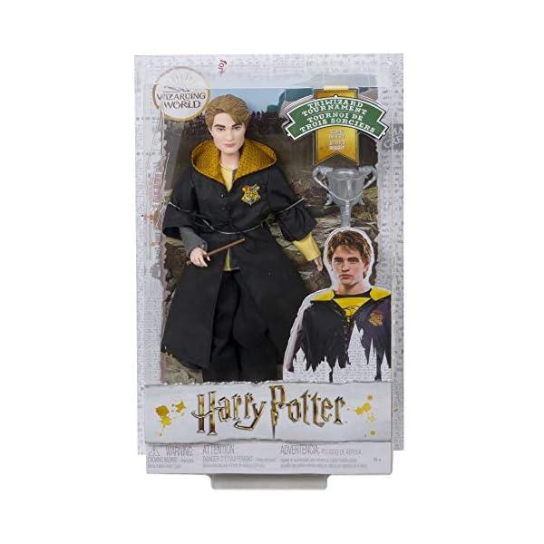 Harry Potter Muñeco Cedric Diggory de la colección de Cáliz de Fuego (Mattel GKT96) 6
