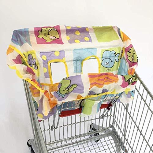 AOOPOO Infant Supermarket Copertura Del Carrello D'acquisto Seggiolino Per Bambini Anti-sporco Cover Kids, As described (5)