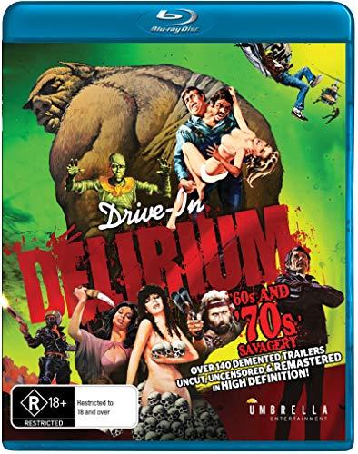 DRIVE IN DELIRIUM: HI DEF HYSTERIA - 60S & 70S - DRIVE IN DELIRIUM: HI DEF HYSTERIA - 60S & 70S (1 Blu-ray)