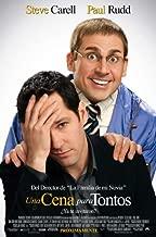 Dinner for Schmucks Movie Poster (27 x 40 Inches - 69cm x 102cm) (2010) Spanish -(Steve Carell)(Paul Rudd)(Stephanie Szostak)(Jemaine Clement)(Zach Galifianakis)(Lucy Punch)