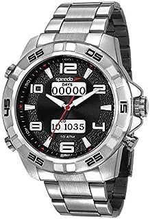 Relógio Speedo Masculino Ref: 15002g0evns2 Big Case Prateado