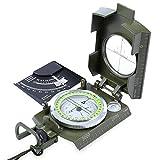 Prismático resistente al agua luminosa brújula con bolsa Militar ejército Geología equipo de viaje para senderismo Camping Picnic pesca viajes montañismo