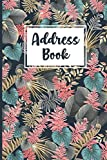 Address Book: Record Phone Numbers, Addresses, Emails, Birthdays and Notes - Phone Number and Address Book with Tabs for seniors