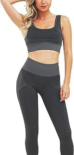 Bodybay Women's Bra Seamless Yoga Bralette Sports Workout Bra -Wireless Yoga Tops