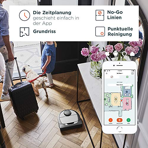 Neato Robotics Botvac D7 Connected – Premium Saugroboter mit Ladestation - 8