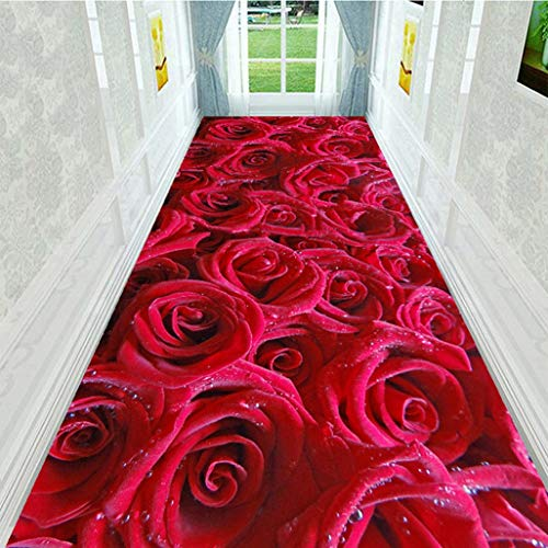 Geeyu Tappeto corridoio passatoia Lungo Runner, Heavy Duty Resistente all'Usura, Passatoia Corridoio Moderna 80x300, Perfetto for Il Corridoio Corridoio & Scale (Color : B, Size : 400x60cm)
