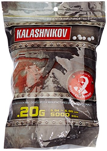Kalashnikov Bolas de pistola BBS 0.20gr 1kg   5000bbs