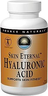 SOURCE NATURALS Skin Eternal Hyaluronic Acid Tablet, 120 Count