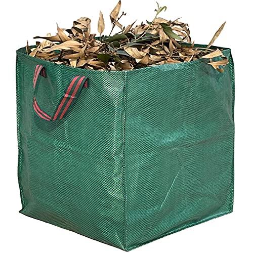 Artillen 120L Gartenabfallsäcke Gartenlaubsäcke Hofsack Laubsammler Gartensäcke strapazierfähig wiederverwendbar (1 x 120 L)