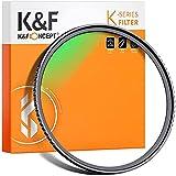K&F Concept Filtro UV 55mm Serie K de Vidrio óptico con Nano-Recubrimiento de 16 Capas para Objetivo 55mm