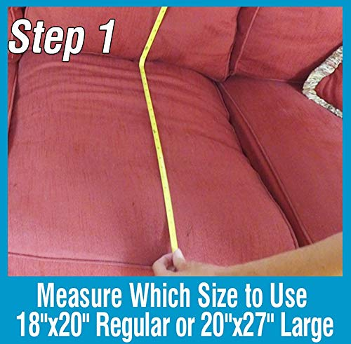 Sagging Cushion Support - for Sofa Couch Loveseat Chair (Severe Large) No Sags