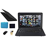 Fancy Cherry® 10 Pulgadas 8GB Android Laptop Netbook Laptop Ultrabook Cámara WiFi HDMI Netflix Youtube (Bolsa para Laptop + Mouse + Mouse + Auricular)