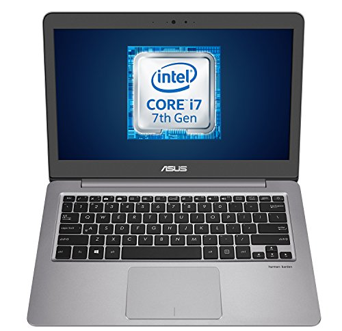 Asus ZenBook UX310UQ-GL379T Ultrabook, Display Da 13.3' FHD (1920 x 1080) LED, Processore Intel i7-7500U, 2.7 GHz, SSD...