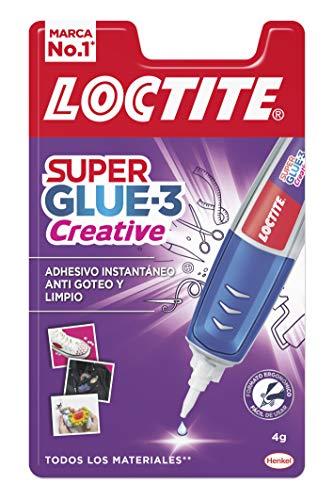 Loctite Super Glue-3 Perfect Pen, adhesivo transparente con forma de bolígrafo, pegamento instantáneo y universal antigoteo, fácil de usar y de gran precisión, 1x3 g