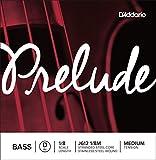Corde seule (ré) pour contrebasse1/8 D'Addario Prelude, tension Medium