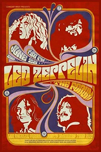 Led Zeppelin Music Notebook : for Led Zeppelin Fan