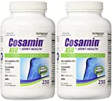Cosamin ASU Joint Health Active Lifestyle Glucosamine HCl Chondroitin Sulfate AKBA 230 Capsules (2 Bottles (460 Capsules))