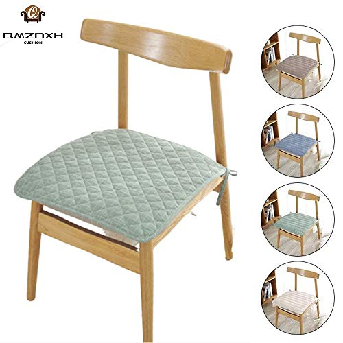 QMZDXH Seat Cushion Dining Chair,chair Pad Cushion Indoor Kitchen Home Seat Pads Non Slip Gripper,2 Pack