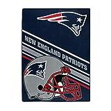 NFL New England Patriots 'Slant' Raschel Throw Blanket, 60' x 80'