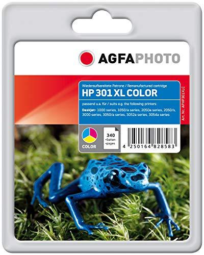 AgfaPhoto APHP301XLC Tinte für HP DJ1050, 340 Seiten, farbig