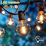 LED Lichterkette Außen,[LED Version] OxyLED LED Garten...