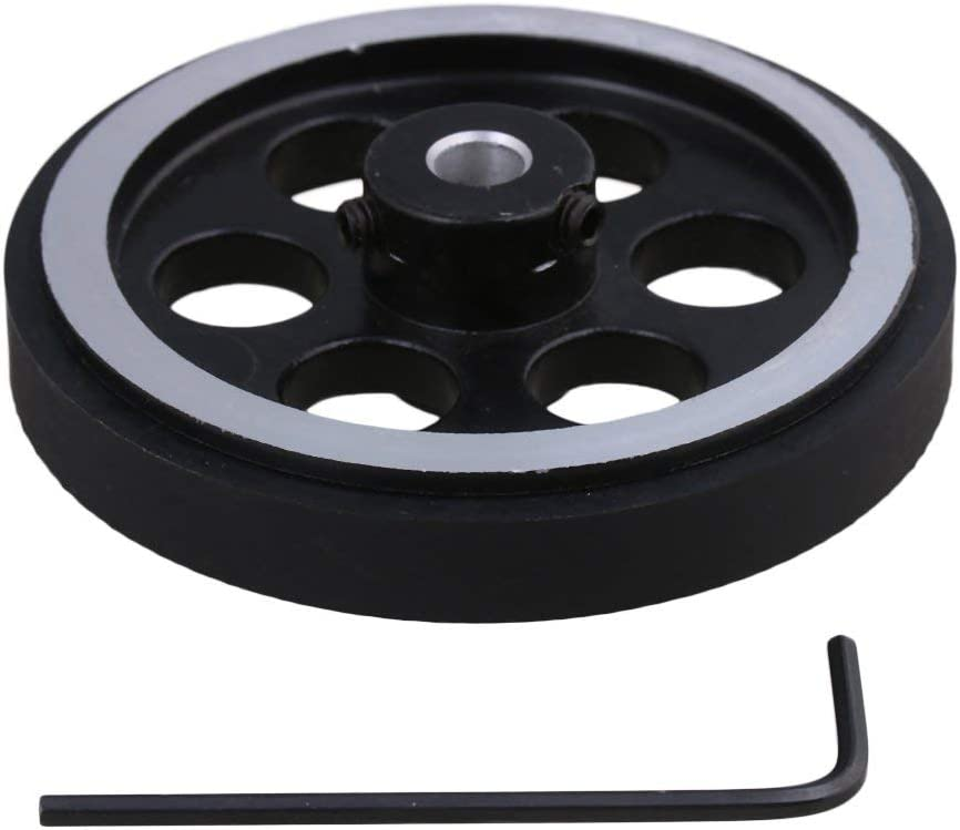 YHJIC Houston Mall 200X6mm Industrial Aluminum Rubber Max 43% OFF Encode Rotary Measuring