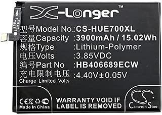KML Battery for Huawei Enjoy 7 Plus Dual SIM TRT-AL00A Y7 Prime 2017 Dual SIM Elate Toronto GW Metal Honor Holly 4 Plus Nova Lite+,Li-Polymer 3.85V 3900mAh / 15.02Wh