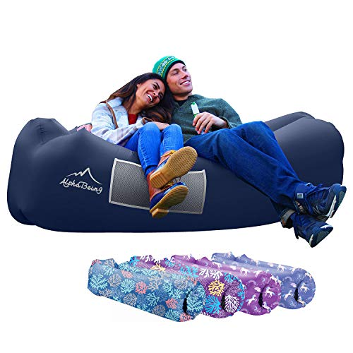 AlphaBeing Inflatable Lounger - Best Air Lounger Sofa for Camping, Hiking -...