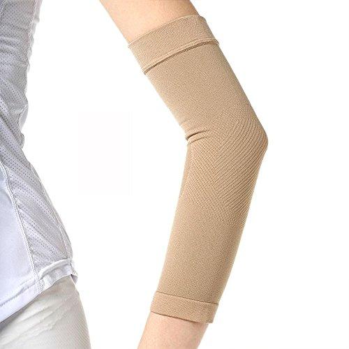Soccik Arme Hülse Elastisch Hülse Armmanschette Arm Shaper Ärmel Kompression Arm Schlanker Schlanken Anti Ödem Formt Arm Shaper Oberarm Übung Haut 1 Paar Hautfarbe - 5
