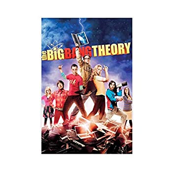 Classic Comedy Style The Big Bang Theory TV Show Poster 9 Canvas poster boy bedroom sports scenery office room decoration gift Unframe 12×18inch 30×45cm
