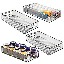 4 acrylic organizing bins