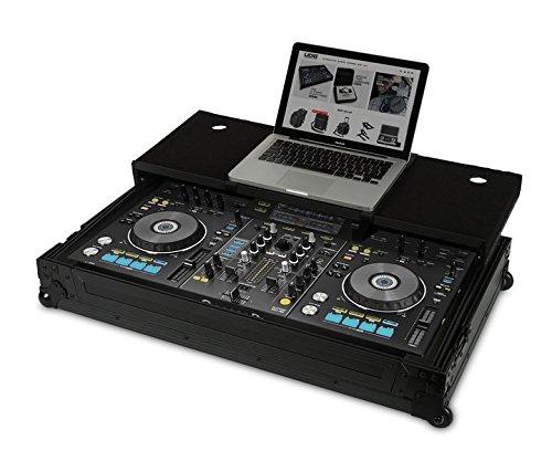 UDG Ultimate Flight Case Pioneer XDJ-RX Black Plus (Laptop shelf + Wh